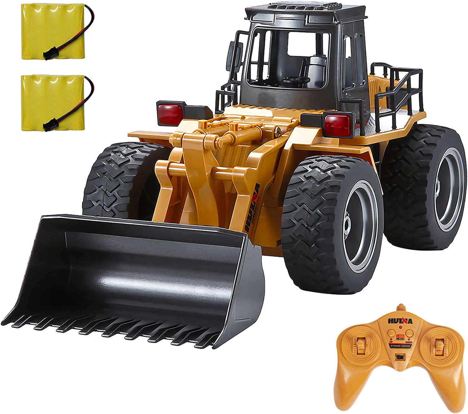 TEMA1985 RC quality assurance Truck 6 Channel Full Functional Front Rem 2021new shipping free shipping 4WD Loader