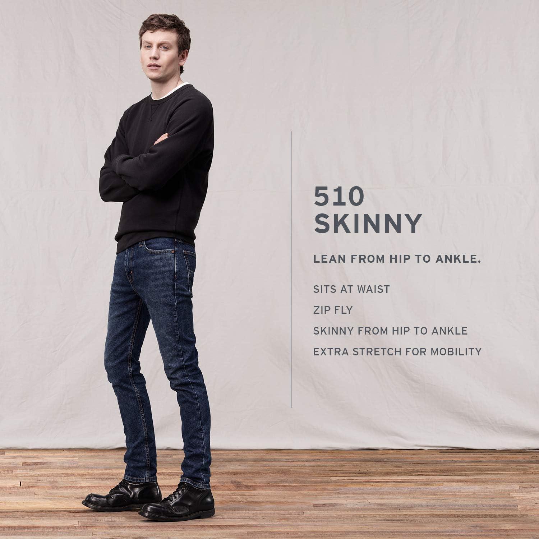 Levi 's Big-Tall 550 Relaxed-fit Jean pour homme Noir de Jais - Stretch
