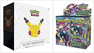 Pokemon Ancient Origins Booster Box and 20th Anniversary Generations Elite Trainer Box Bundle, 1 of Each