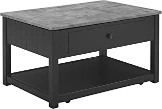 Signature Design by Ashley Ezmonei Lift Top Cocktail Table Black/Gray