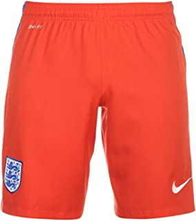 promo code db8b5 386ec NIKE England Away Shorts 2016 Mens Challenge Red Football Soccer Short