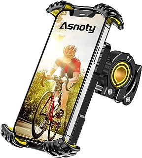 Asnoty Bike Phone Mount Holder, 360° Rotatable Adjustable Anti-Shake Bicycle Motorcycle Phone...