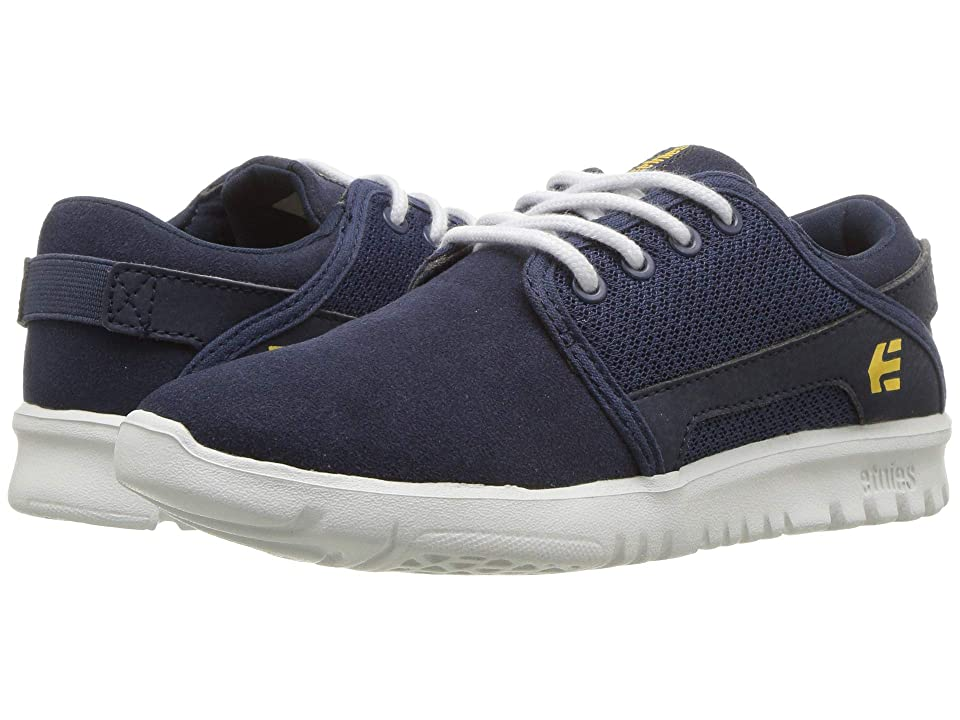 etnies Kids Scout (Toddler/Little Kid/Big Kid) (Navy) Boys Shoes