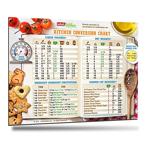 Kitchen Conversion Chart Amazon