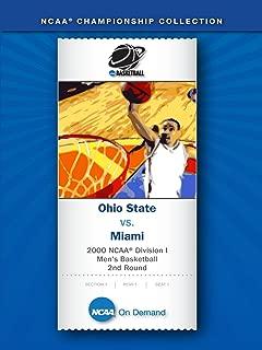 2000 NCAA(r) Division I Men's Basketball 2nd Round - Ohio State vs. Miami