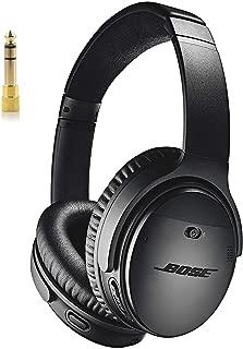 Bose QuietComfort 35 (Series II) Wireless Headphones, Noise Cancelling, Alexa Voice Control - Black + 1 Year Extended Warranty