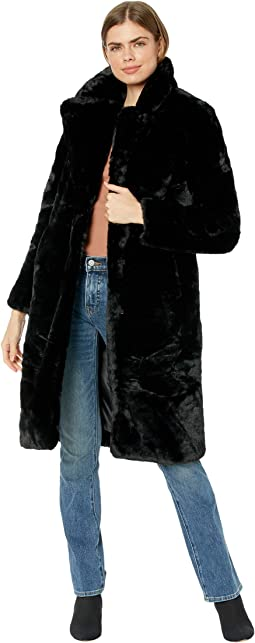 Siena Slimmer Fit Long Faux Fur Coat