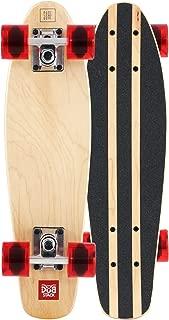 DUB STACK(ダブスタック) スケートボード コンプリートセット メープルデッキ採用スケボー・安定感に優れたソフトウィール採用