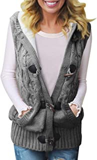 cable knit sweater vest women's