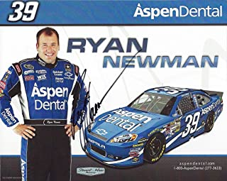 AUTOGRAPHED 2012 Ryan Newman #39 Aspen Dental Racing (Stewart-Haas) Signed Picture NASCAR 8X10 inch Hero Card Photo with COA