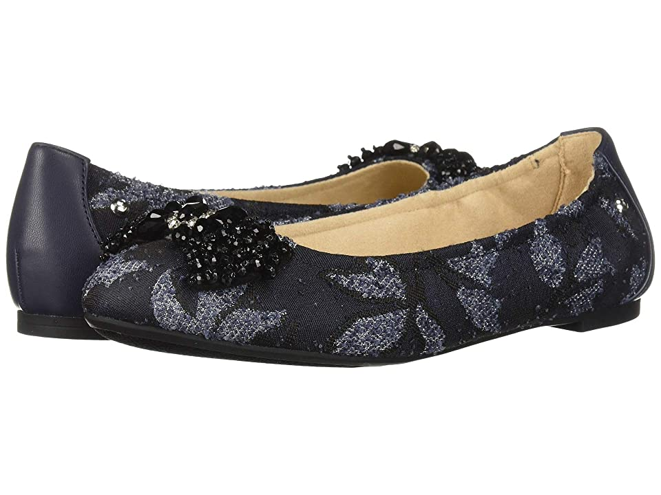 Circus by Sam Edelman Cait (Navy Multi Marled Floral Jacquard/Sheep Nappa) Women