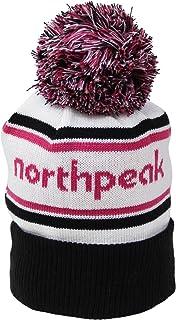north peak(ノースピーク) ビーニー ニット帽 ボンボン付き フリーサイズ NP-9363