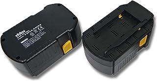 vhbw 2x NiMH batería 3000mAh (24V) para herramienta eléctrica powertools tools Hilti SFL 24, TE 2-A, UH 240-A, WSC 55-A24, WSC 6.5, WSR 650-A