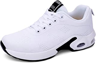 Crazyfly Hombres Mujeres Zapatos Otoño Invierno Deportes Correr Zapatos Moda Aire Cojín Tejidos Zapatos Hueco Doble Malla ...