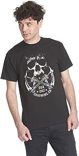 Camiseta Hombre Skull and Sickle Cotton Black