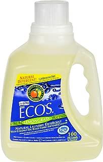 Earth Friendly Products ECOS Liquid Laundry, Lemongrass, 100-Ounce Bottle