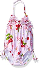Kate Mack Girls' Cherries Jubilee Bubble Swimsuit