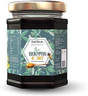 Societe Naturelle - Eucalyptus Organic Honey - 340gms / Aids Holistic Wellness / Certified Honey / Pure Raw Unpasteurized ...
