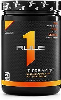 R1 Pre Amino 30 Serving Peach Mango