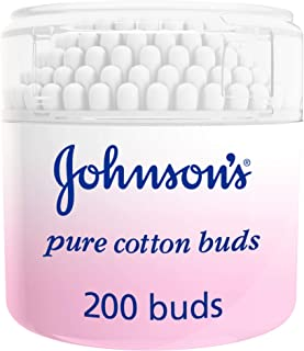 JOHNSON'S, Cotton, Baby Cotton Buds, Box of 200 sticks