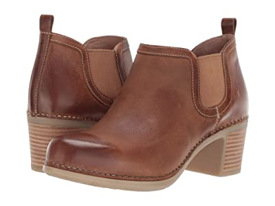 Dansko Harlene (Tan Waxy Burnished) Women