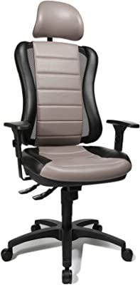 Topstar HE30PS103X Silla de Escritorio de Oficina, Head Point RS con reposabrazos y Cabezal,