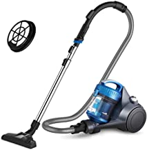 Sponsored Ad - Eureka Whirlwind Bagless Canister Vacuum Cleaner, Lightweight Vac for Carpets and Hard Floors, w/Filter, Blue