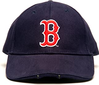 Lightwear MLB Boston Red Sox Dual LED Headlight Adjustable Hat