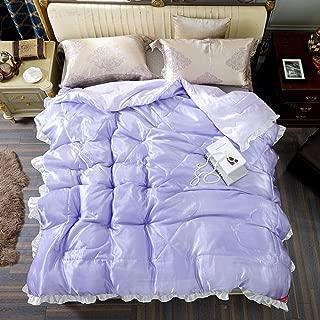 LOSTRYY Warm Cashmere Quilt Silk Comforter Summer Silk Quilt Mulberry Silk Blanket Comforters Twin Size Duvet@4_200230cm