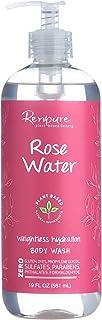 (Rose Water) - Renpure Rose water body wash, 560ml