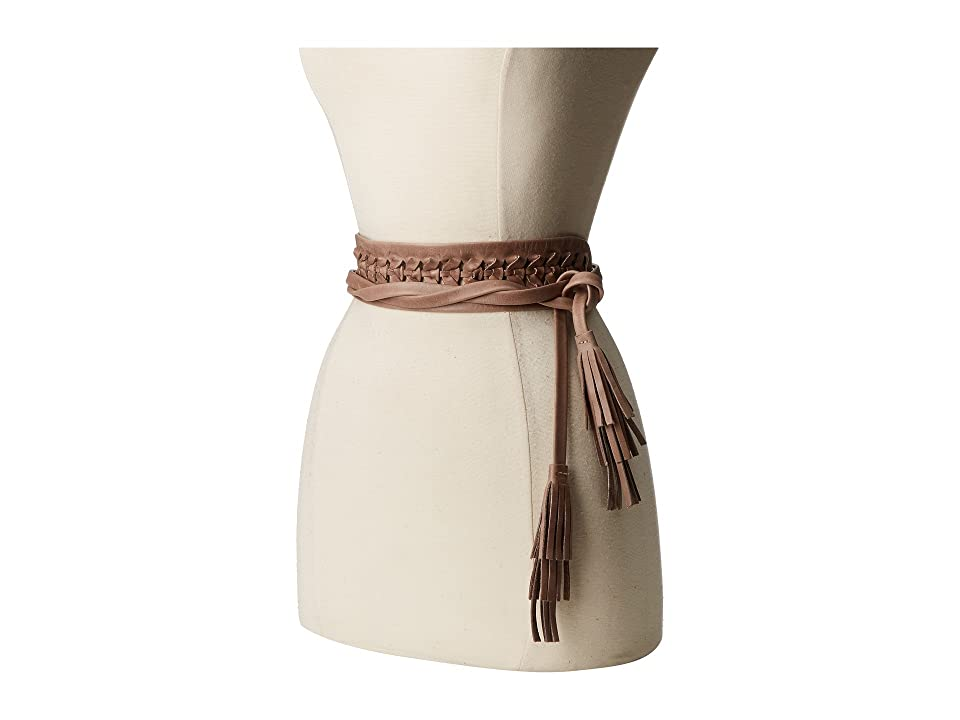 Image of ADA Collection Ava Wrap Belt (Taupe) Women's Belts