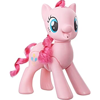 "My Little Pony Toy Oh My Giggles Pinkie Pie -- 8"" Interactive Toy with Sounds & Movement, Kids Ages 3 Years Old & Up"