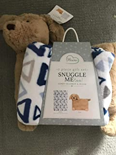 Little Miracles Snuggle Me Too Comfy Blanket and Dog Plush