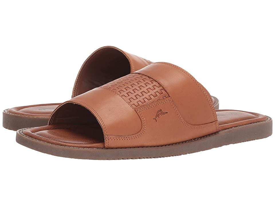 Tommy Bahama Genesee Palms (Cognac Leather) Men