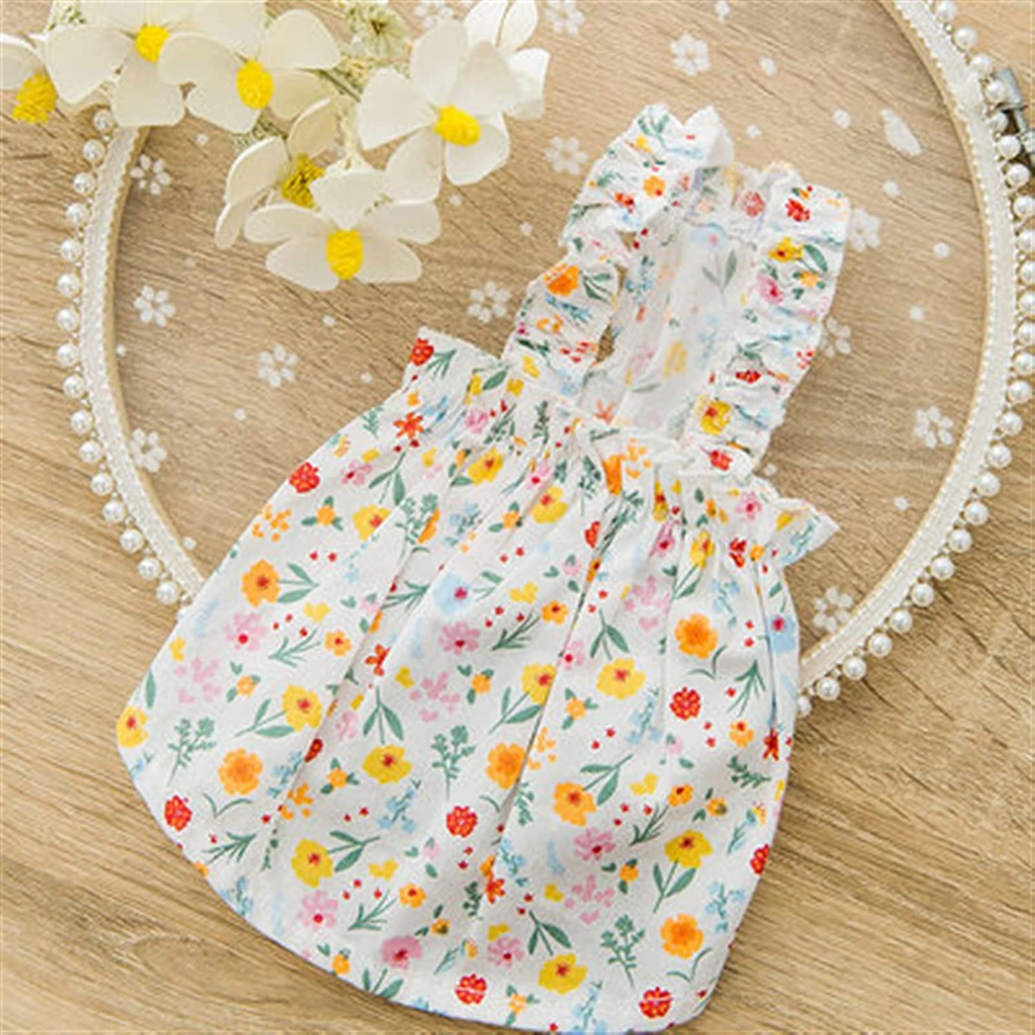 LUBINGT Outlet SALE Pet Clothes Cartoon Genuine Free Shipping Dog Floral Clothing for Dogs