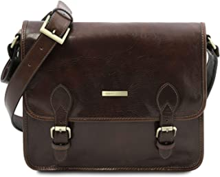 Tuscany Leather TL Postman Borsa messenger in pelle