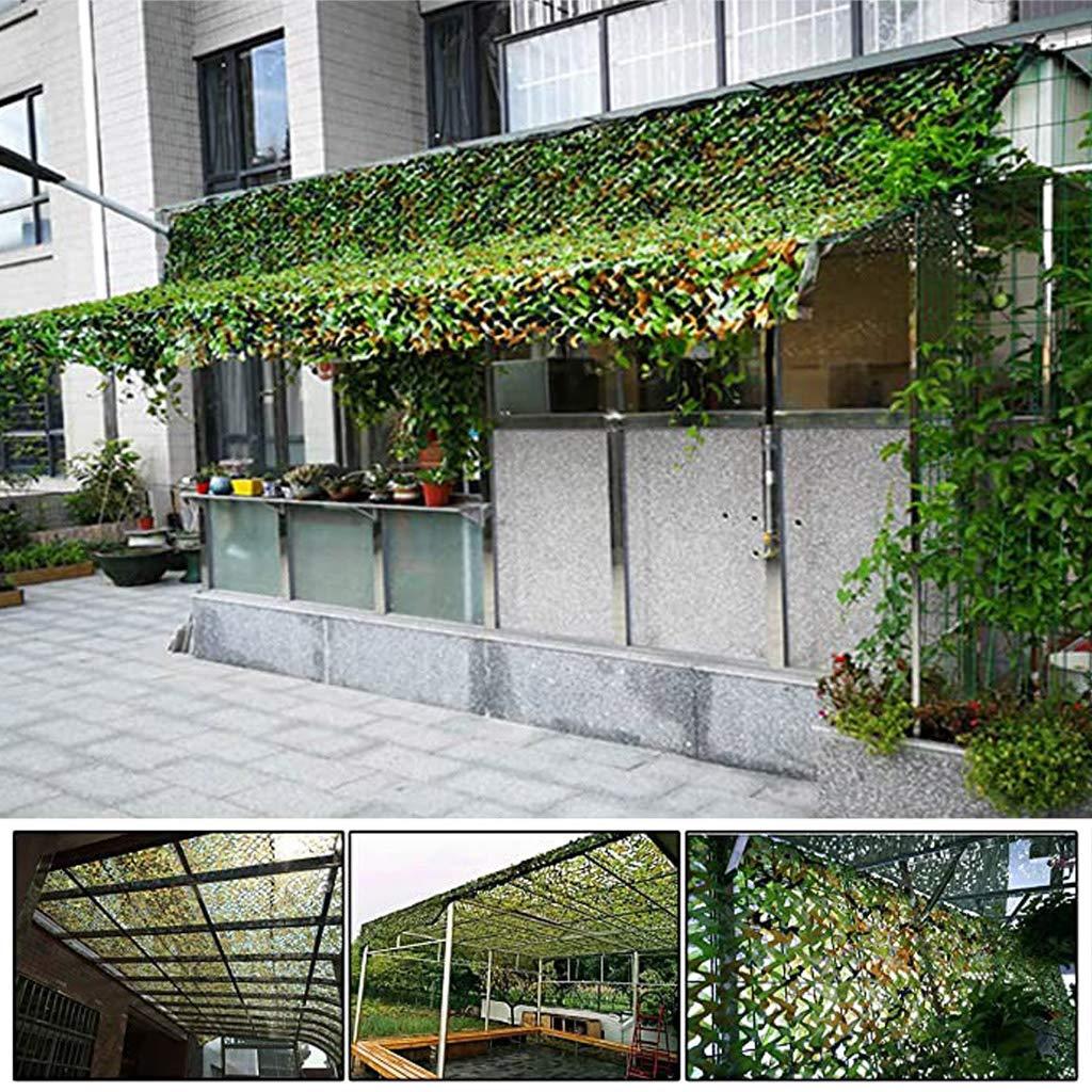 KYSZD-Tenda Red de Camuflaje Militar Redes de protección Solar Ligeras Ideal para pérgola de jardín, Techo, Invernadero, cobertizo de Carro, automóvil, etc.: Amazon.es: Hogar