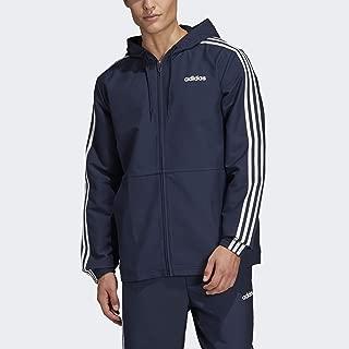 adidas Men's Essentials 3-stripes woven Windbreaker
