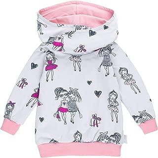 "Made in Germany Lilakind/"" Kinder Pullover Hoodie Sweater Kapuze Glitzer Sterne grau meliert Silber Gr 68//74-116//122"