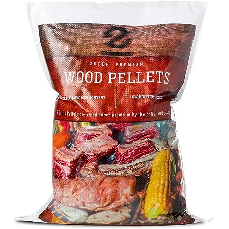 Z GRILLS 100% All-Natural Flavor American Oak Hard Grill, Smoke, Bake, Roast, Braise & BBQ Wood Pellet, 1 Pack Total 20lbs