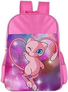 Mew Pokemon Children's Bags Kid School Bag Boy Girl Backpack