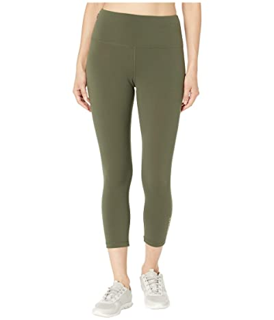 Lorna Jane Conquer 7/8 Leggings (Dark Safari) Women