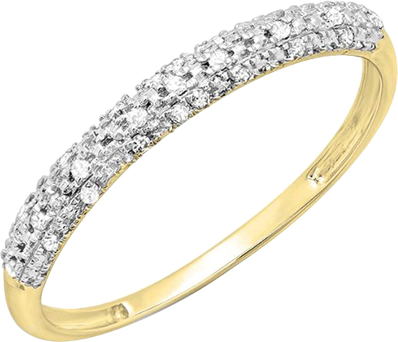 Dazzlingrock Collection Max 72% OFF 0.10 Carat ctw Lad Round Diamond White Rapid rise