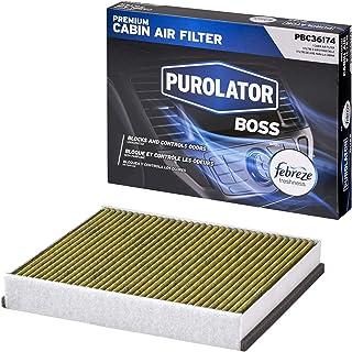 Purolator PBC36174 PurolatorBOSS Premium Cabin Air Filter with Febreze Freshness