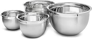 YBM Home 1170-71-72-73set Deep Professional Heavy Duty Quality Stainless Steel Mixing Bowls, 12 Quart