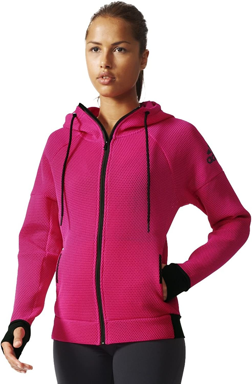 Adidas Damen Sweatshirt Daybreaker Mesh, 4056561482874