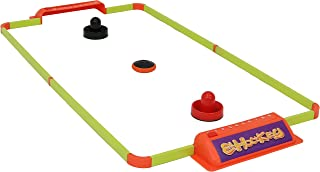 Sunnydaze Portable Hover Air Hockey Set, Mini Tabletop Game Table for Kids & Adults, 40-Inch
