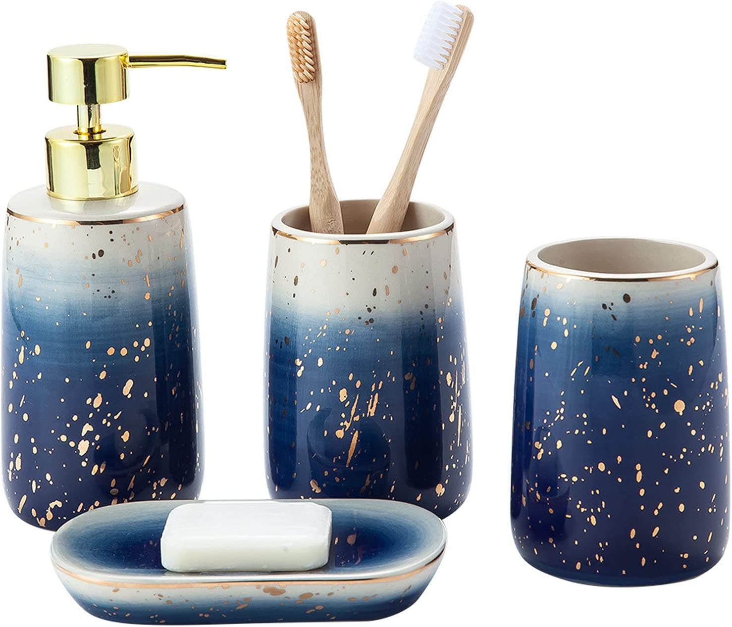 AKEFG Four Piece Bathroom Popular products Accessories Set - 4 Including Ceramic Max 85% OFF
