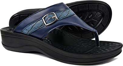 AEROTHOTIC Comfortable Orthopedic Arch Support Flip Flops and Sandals for Women