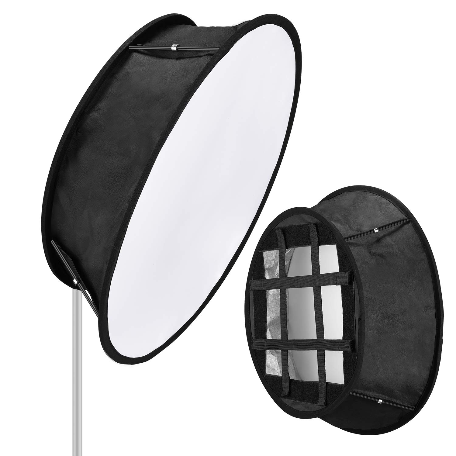 Neewer Luz Trapezoide LED Softbox Plegable: 11,5x11,5